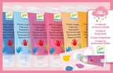 Djeco Finger Paint Tubes - Sweet DJ09000